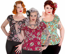 Hell Bunny Waist Casual Tops & Shirts for Women