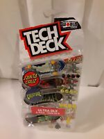 Tech Deck Santa Cruz Creature World Edition Limited Series Skateboard 4 pack