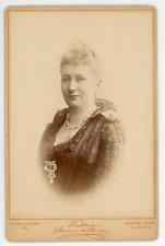 Augusta Viktoria, Kaiserin  Vintage silver print. Augusta-Victoria de Schleswi