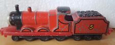 Thomas and Friends 1987 James Die Cast ERTL Brand Train Toy Heavily Played