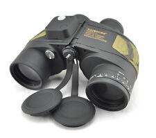 Visionking 7x50 floating Waterproof Binoculars Compass range finder Marine Camo