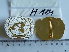 Bundeswehr Barettabzeichen UN UNO Metall 1 Stück (h184a)