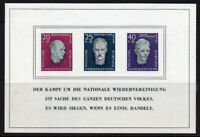 East Germany Miniature Sheet of Stamps c1957 Unmounted Mint Never Hinged (5562)
