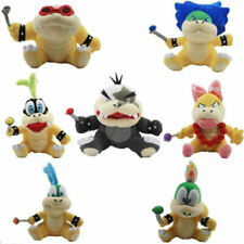 7PC/Set Super Mario Bros Koopalings Plush Toy Morton Wendy Lemmy Ludwig Larry