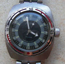 VOSTOK KOMANDIRSKIE Amphibian Amphibia mechanical watch made in USSR WOSTOK