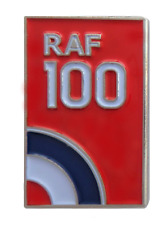 Royal Air Force RAF Centenary 100 Years Target Logo Pin Badge