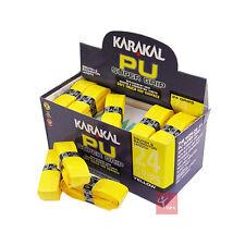 Karakal PU Super Grip Squash / Badminton Replacement Grip 24 Pack - Yellow