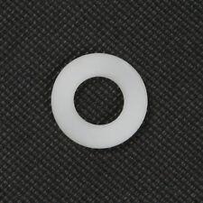 Qty 1000 Nylon Flat Washer M10 (10mm) x 21mm x 1.5mm White Spacer Plastic Bush