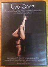 Live Once: Intermediate/Advanced Pole Dance Instructional Video (DVD)