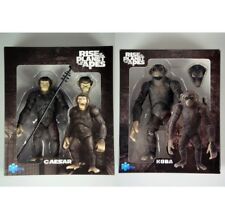 """LOT OF 2 new Rise Of The Planet Of The Apes Caesar Koba  action figure 6"""" #S2"""