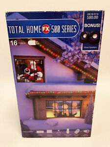 Total Home FX 500 Series Holiday Window Scene Video Projection - New Open Box