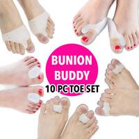 Bunion Splint Corrector Silicone Toe Health Hallux Valgus Relief Straightener 10