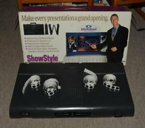 """Showstyle Folding Briefcase 24x48"""" hook/loop ready trade show display"""