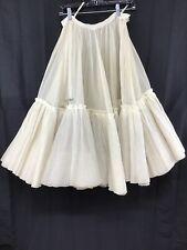 Vintage 50s Petticoat Underskirt Swing Skirt Slip 5 Layers Small