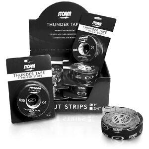 "Storm Thunder 1 "" Bowler Tape Pre-cut Stripes Gleitkontrolle Skin Protection"