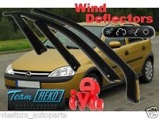 OPEL/GM/Vauxhall Corsa/Corsa C 2000 - 2006 5D deflettori del vento HEKO 25366