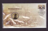 2010 Burke & Wills 150 Years FDC PNC Coin Stamp Set Explorer Cooper's Creek