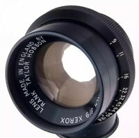 TAYLOR HOBSON 10.16 inch 258mm f/9 lens copying XEROX England 10inch 240mm RARE