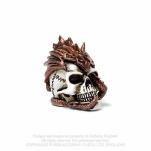 ALCHEMY ENGLAND Gothic Steampunk Fantasy MINIATURE ORNAMENT Dragon Keepers Skull