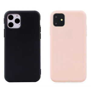 """Case For Apple iPhone 11 6.1"""" Shockproof Silicone Soft Back Phone Cover UK"""