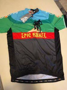 Funkier Jersey Cycling Finisher SS 2013 Epic Israel Holly Land MTB Race Road new