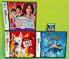 Bolt Golden Compass Wizards Princess Frog - Disney Lot Nintendo DS Lite 3DS 2DS