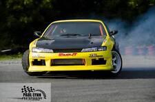 s14a 200sx vertex style fibreglass front bumper drift drag track frp