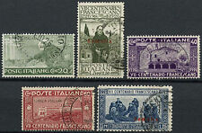 Italian Somaliland 1926 SG#76-80 St. Francis Of Assisi Used Set #A92217