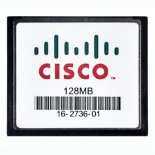 Cisco 128MB Standard CompactFlash CF MEM1800-128CF=