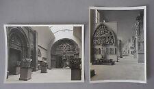 MUSEE DES MONUMENTS FRANCAIS, CHAILLOT, ARCHITECTURE, 2 PHOTOGRAPHIES M.H., 1960