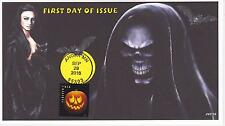 JVC CACHETS -2016 JACK-O-LANTERN PUMPKIN ISSUE #1 SCARY HALLOWEEN WITCHES
