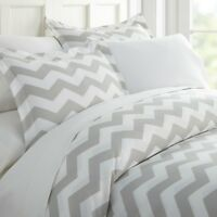 Premium - 3 Piece Arrow Printed Duvet Cover Set - The Hotel Collection