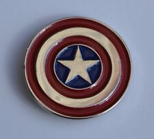 Captain Amerca Quality Enamel Pin Badge