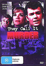 THEY CALL IT MURDER – DVD, REGION-ALL, NEW AND SEALED, FREE POST IN AUSTRALIA