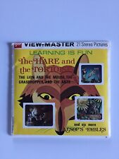 View-Master Vintage 1959 AESOP'S FABLES THE HARE AND THE TORTOISE plus 8 more