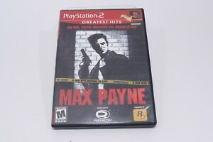 Max Payne PS2 Playstation 2 Game In Case No Manual Shooter Game