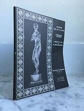 Catalogue de vente Bronzes art de la chine Tableaux Anciens Objets d'Art 1969