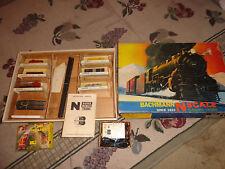 1969 Vintage Bachmann N Scale GP40 Diesel Train Set - Santa Fe