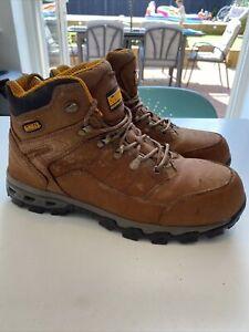 Dewalt Pro Lite Size 11 Safety Work Boots Steel Toe Comfort Tan RRP £64.99