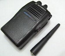 Motorola GP328 Plus UHF 450-527 Mhz 4W 16 Channels Radio +Free Accessories