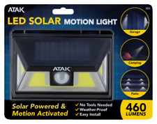 Performance Tool: 460 Lumen Solar Motion Sense Light