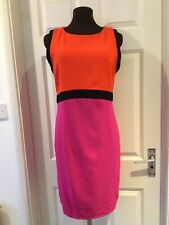 """"""" DEFINITIONS"""": 3-COLOUR, """" WOWEE"""", Sleeveless DRESS, SIZE 18 :( BNWTags)"""