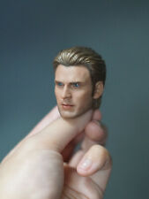 In-stock 1/6 Scale ELITE Steve Rogers Cap America Head Sculpt For Hot toys