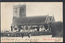Isle of Wight Postcard - Chale Church     RS6194