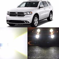 Alla Lighting Fog Light H11 Super Bright White LED Bulbs for 14~17 Dodge Durango