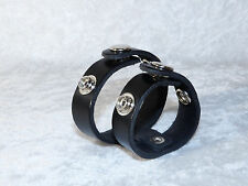 Leather Male Enhancer Erection Ring Adjustable 2 Straps
