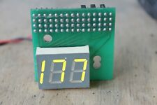 CPU frequency LED display for PC system unit, model S-510, vintage
