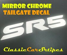 HILUX SR5 Chrome Toyota Tailgate Decal Sticker Suit 2005 TO 2014