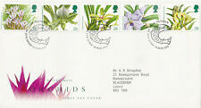 (25632) GB FDC Orchids Glasgow 1993