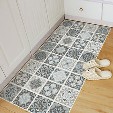 Grey Moroccan Tile Floor Stickers Waterproof Anti-slip Home Decal 60*120cm